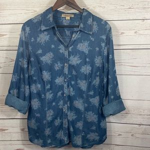 Nine West. Vintage America Collection. Button up